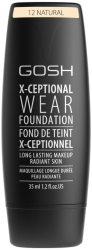 GOSH X-ceptional wear foundation 12 Natural