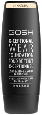 GOSH X-ceptional wear foundation 12 Natural